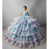 Fiesta/Noche Vestidos por Muñeca Barbie  Vestidos por Chica de muñeca de juguete