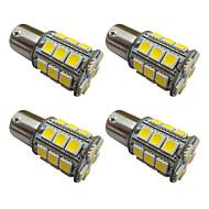 Недорогие Сигнальные огни для авто-1157 1156 Автомобиль Лампы 2.5W W SMD 5050 200lm lm Светодиодная лампа Внешние осветительные приборы