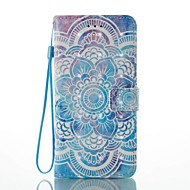 Fall für Apfel iphone 7 plus 7 Kartenhalter Brieftasche mit Standfuß Muster Fall Ganzkörper Fall 3d Mandala harte PU Leder für 6s plus 6s