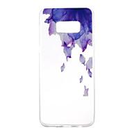 Недорогие Чехлы и кейсы для Galaxy S8 Plus-Кейс для Назначение SSamsung Galaxy S8 Plus S8 С узором Кейс на заднюю панель Цветы Мягкий ТПУ для S8 Plus S8 S7 edge S7