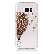 Til Samsung Galaxy S8 plus s8 præget ballon mønster høj kvalitet tpu blød telefon taske til s7 kant s7