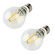 5W LED-globepærer 4 leds COB Varm hvid 400lm 3000K Vekselstrøm 85-265V