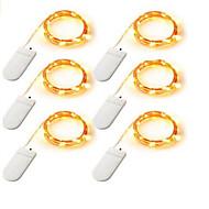 olcso LEDszalagfények-Fényfüzérek lm Akkumulátor V 12 m 120    20*6 led Meleg fehér Fehér Több színű