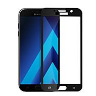 お買い得  Samsung 用スクリーンプロテクター-スクリーンプロテクター のために Samsung Galaxy A7(2017) 強化ガラス 1枚 フルボディプロテクター ハイディフィニション(HD) / 硬度9H / 2.5Dラウンドカットエッジ