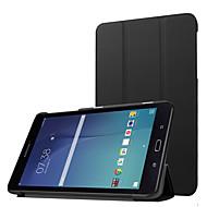 para Samsung Galaxy Tab e 8,0 t377v luxo ultra fino pu caso estande couro, couro pu tampa escudo protetor