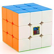 cheap Toy & Game-Rubik's Cube MoYu 3*3*3 Smooth Speed Cube Magic Cube Educational Toy Stress Reliever Puzzle Cube Smooth Sticker Gift Unisex