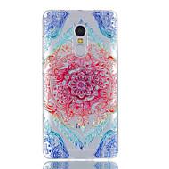 Til xiaomi redmi note 4 case cover blonde print mønster skinnende malet præget tpu blødt tilfælde