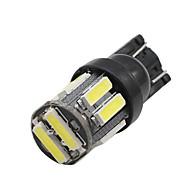 Недорогие Внешние огни для авто-SO.K 10 шт. T10 Автомобиль Лампы 2 W SMD 4014 200 lm Светодиодная лампа Внешние осветительные приборы