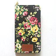 Für Samsung Galaxy Note 3 Fall Abdeckung Kartenhalter mit Standplatz Flip Muster Ganzkörper Fall Blume harte PU Leder