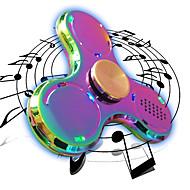 Fidget Spinned Fidget spinner -stressilelu hand Spinner Lelut Tri-Spinner LED Spinner Metalli Pieces Poikien Tyttöjen Lahja