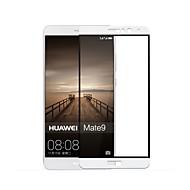 Hærdet Glas Skærmbeskytter for Huawei Huawei Mate 9 Skærmbeskyttelse Anti-fingeraftryk High Definition (HD) 9H hårdhed 2.5D bøjet kant