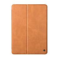 olcso iPad tokok-valódi bőr tok Apple új iPad 2017 kiadás 9,7 hüvelykes luxus állni folio flip-bőr mágneses alvás okosborító esetén