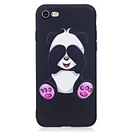 cheap iPhone 8 Plus Cases-Case For Apple iPhone X / iPhone 8 Pattern Back Cover Animal / Panda Soft TPU for iPhone X / iPhone 8 Plus / iPhone 8