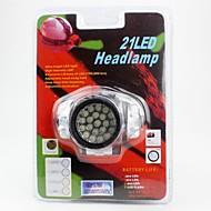 헤드램프 헤드라이트 LED lm 1 모드 LED 휴대성 캠핑/등산/동굴탐험 일상용 사이클링 사냥 등산 야외 실버 그레이