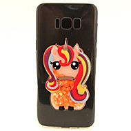 Для samsung galaxy s8 s8 плюс чехол чехол unicorn flash порошок quicksand tpu материал diy телефон кейс s7 s7 край