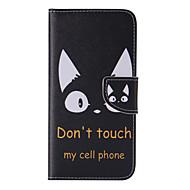 billige -Etui Til Samsung Galaxy S8 Plus S8 Kortholder Lommebok med stativ Flipp Mønster Heldekkende etui Katt Hard PU Leather til S8 Plus S8