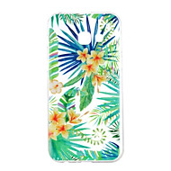 Кейс для Назначение SSamsung Galaxy A5(2017) A3(2017) С узором Задняя крышка Цветы Мягкий TPU для A3 (2017) A5 (2017) A5(2016) A3(2016)