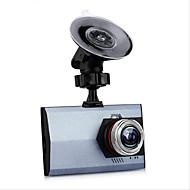 Недорогие Видеорегистраторы для авто-T20 Full HD 1920 x 1080 Автомобильный видеорегистратор 120° Широкий угол 3 дюймовый Капюшон с G-Sensor / Циклическая запись / автоматическое включение / выключение Автомобильный рекордер