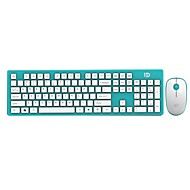 FD Ultra thin Power Saving 2.4GHz Wireless Keyboard and Mouse Combo for PC and Mac