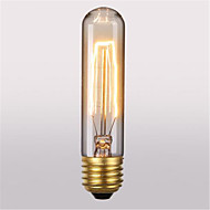 T10 ac220-240v 60W retro tunnelma Edison hehkulamppu silkki lamppu 1kpl