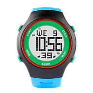 billige -ezon mote klokker ultra-tynne menns kvinner idrett vanntett digital stoppeklokke dato alarm gummi sport armbåndsur