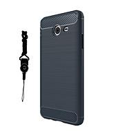 olcso Galaxy J5(2016) tokok-Case Kompatibilitás Samsung Galaxy J7 Prime J5 Prime Porálló Fekete tok Tömör szín Puha TPU mert J7 Prime J7 (2016) J7 J5 Prime J5 (2016)