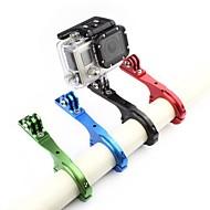 お買い得  スポーツカメラ & GoPro 用アクセサリー-Handlebar Mount 調整可 ために アクションカメラ ゴプロ6 / フリーサイズ バイク アルミニウム合金