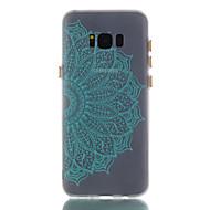 Для samsung galaxy s8 s8 плюс чехол чехол мандала узор окрашенный материал tpu светящийся корпус телефона s7 s7 край