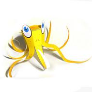 cheap Toys & Hobbies-3D Puzzles Paper Model Model Building Kits Paper Craft Toys Square Fish Octopus 3D DIY Hard Card Paper Unisex Pieces