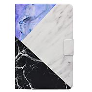 Недорогие Чехлы и кейсы для Galaxy Tab 4 7.0-Кейс для Назначение SSamsung Galaxy Вкладка 9,7 Вкладка 8,0 Бумажник для карт со стендом Флип Магнитный С узором Чехол Мрамор Твердый