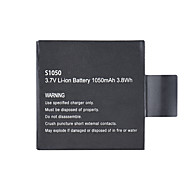 1050mAh Rechargeable Battery 3.8Wh for Andoer AN7000 Sports Action Camera
