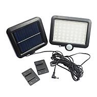 Hareket sensörü güneş enerjili açık bahçe güvenlik taşkın ışık spot lambası