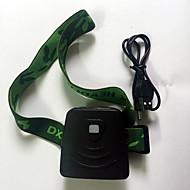 preiswerte Taschenlampen, Laternen & Lichter-Stirnlampen LED 300 lm 1 Modus LED Mini Wiederaufladbare Batterie Infrarot-Sensor G-Sensor Notfall Camping / Wandern / Erkundungen Für