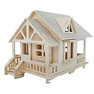 preiswerte Spielzeuge & Spiele-3D - Puzzle Holzpuzzle Holzmodelle Modellbausätze Berühmte Gebäude Möbel Haus Architektur 3D Simulation Heimwerken Holz Klassisch Unisex