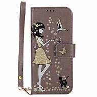 Недорогие Чехлы и кейсы для Galaxy S7 Edge-Кейс для Назначение SSamsung Galaxy S8 Plus S8 Бумажник для карт Кошелек со стендом Сияние в темноте Флип С узором Чехол Соблазнительная