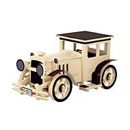 abordables Maquetas y Juguetes de Construcción-Puzzles 3D Puzzles de Madera Maquetas de madera Aeronave Coche 3D Manualidades 3D Madera Clásico Unisex Regalo