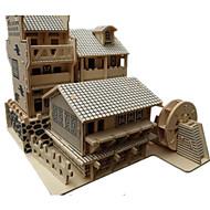 お買い得  おもちゃ & ホビーアクセサリー-3Dパズル / ジグソーパズル / モデル作成キット 有名建造物 / 中国建造物 DIY / シミュレーション 木製 クラシック / 中国風 男女兼用 ギフト