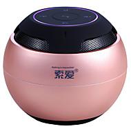 preiswerte Lautsprecher-Bluetooth 4.0 3.5mm Leicht Rosa Rotgold
