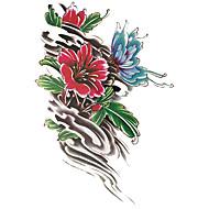 tanie -1 pcs Kostiumy na Halloween / Kołnierz / Makijaż do kostiumów Tatuaże tymczasowe Seria totemiczna / Seria zwierzęca / Seria kwiatowa Błysk / Halloween / Obroża Sztuka na ciele Twarz / Korpus / Ręka