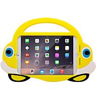 Voor Hoesje cover Schokbestendig Kindveilig Achterkantje hoesje 3D Cartoon Zacht EVA voor Apple iPad Mini 4 iPad Mini 3/2/1