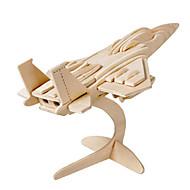 お買い得  -Muwanzi 3Dパズル ジグソーパズル ウッド模型 飛行機 戦闘機 有名建造物 アーキテクチャ 3D DIY ウッド クラシック 男女兼用 ギフト