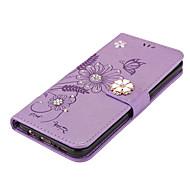 Кейс для галактики s8 plus s8 держатель карты кошелек подставка флип магнитный дий полное тело бабочка цветок твердый кожа pu s7 край s7