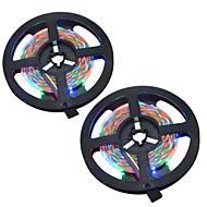 お買い得  -HKV 10m ライトセット 300 LED 3528 SMD RGB カット可能 / ノンテープ・タイプ / 変色 12 V