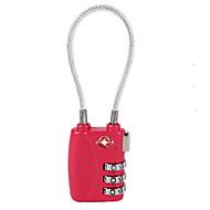 お買い得  -TSA719 パスワードパッドロック プラスチック パスワードのロック解除forローラー付きスーツケース