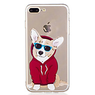abordables Ofertas de Hoy-Funda Para Apple iPhone 7 Plus iPhone 7 Diseños Funda Trasera Perro Suave TPU para iPhone 7 Plus iPhone 7 iPhone 6s Plus iPhone 6s iPhone