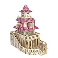 preiswerte Spielzeuge & Spiele-3D - Puzzle Holzpuzzle Holzmodelle Modellbausätze Berühmte Gebäude Möbel Haus Simulation Heimwerken Holz Klassisch Kinder Unisex Geschenk