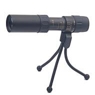 voordelige Verrekijkers-10-30X25mm Monoculair Voor buiten Hoogspanning Porro Prisma Militair Spotting Scope Handheld Algemeen Draagtas Militair Algemeen gebruik