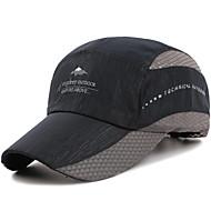 Caps Vizörler Şapka Unisex Ayarlanabilir/İçeri Çekilebilir Ayarlanabilir Boyut Günlük/Sade içinÇalışma Yol Bisikletçiliği Serbest Sporlar