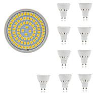 お買い得  LED スポットライト-10個 5 W 400 lm GU10 / GU5.3 / E26 / E27 LEDスポットライト 80 LEDビーズ SMD 2835 装飾用 温白色 / クールホワイト 220-240 V / RoHs