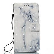 Для samsung galaxy a3 (2017) a5 (2017) корпус крышка белая зола мраморный узор 3d окрашенный карточный стент кошелек телефон для галактики
